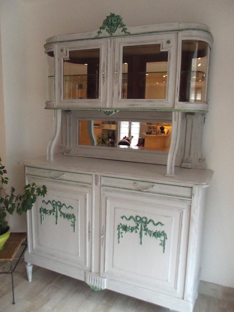 les buffets 2 corps relook s le petit atelier de flo. Black Bedroom Furniture Sets. Home Design Ideas