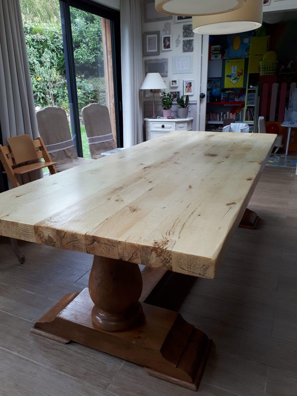 Les tables relookées   Le Petit Atelier de Flo